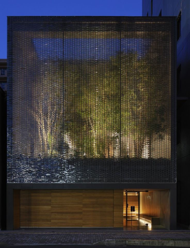 Optical Glass House by Hiroshi Nakamura, Hiroshima, Japan