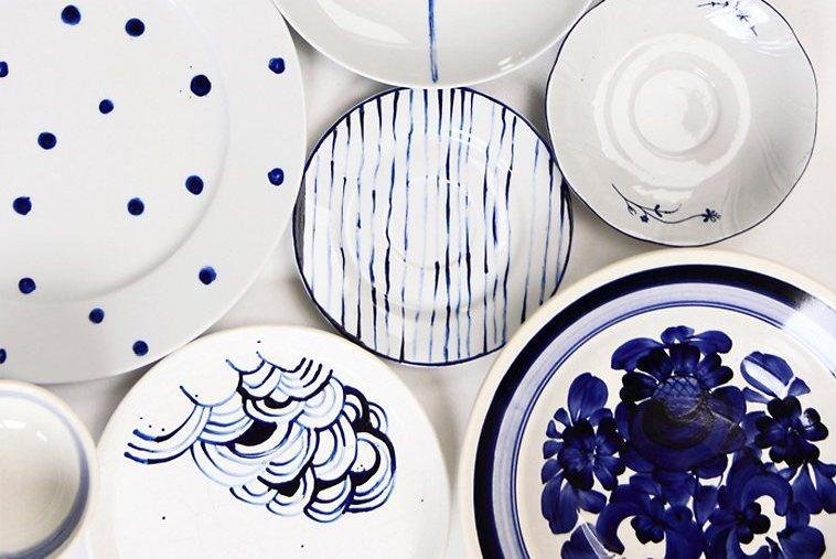 Regalo di natale fai da te, ceramiche dipinte