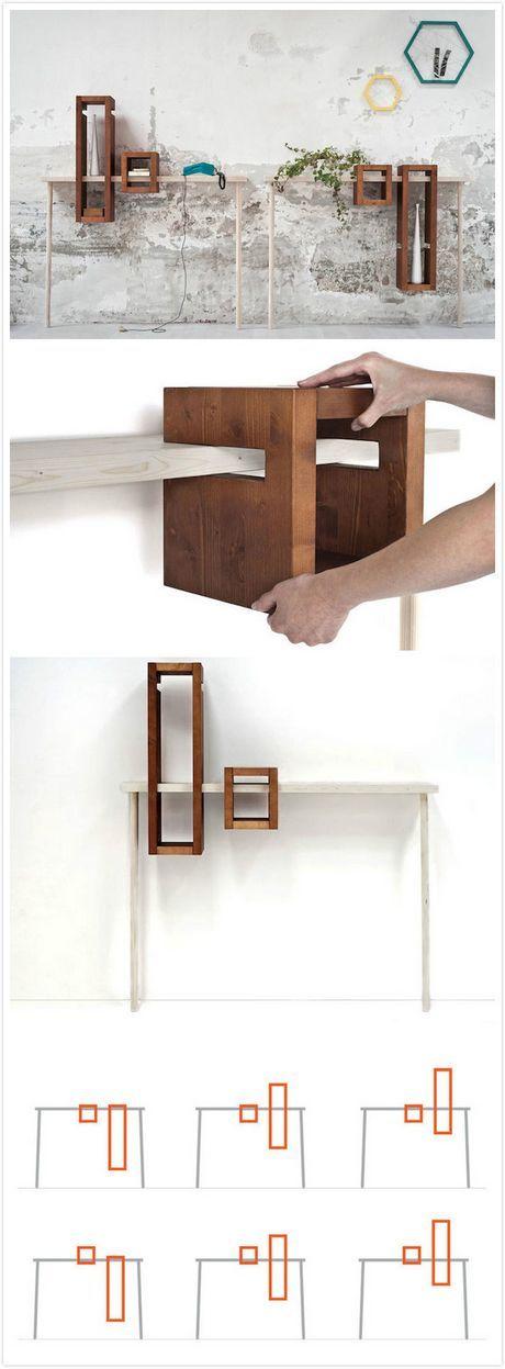 Mobili trasformisti in the mood for design - I mobili di luca ...