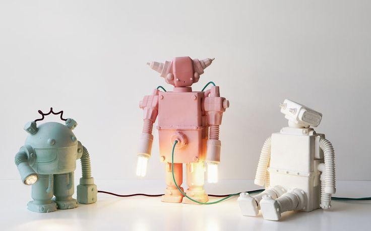 robot in ceramica