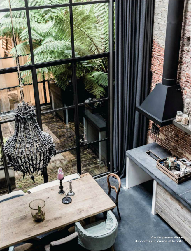 Interior inspiration un loft affacciato sul cortile ad for Interior design amsterdam
