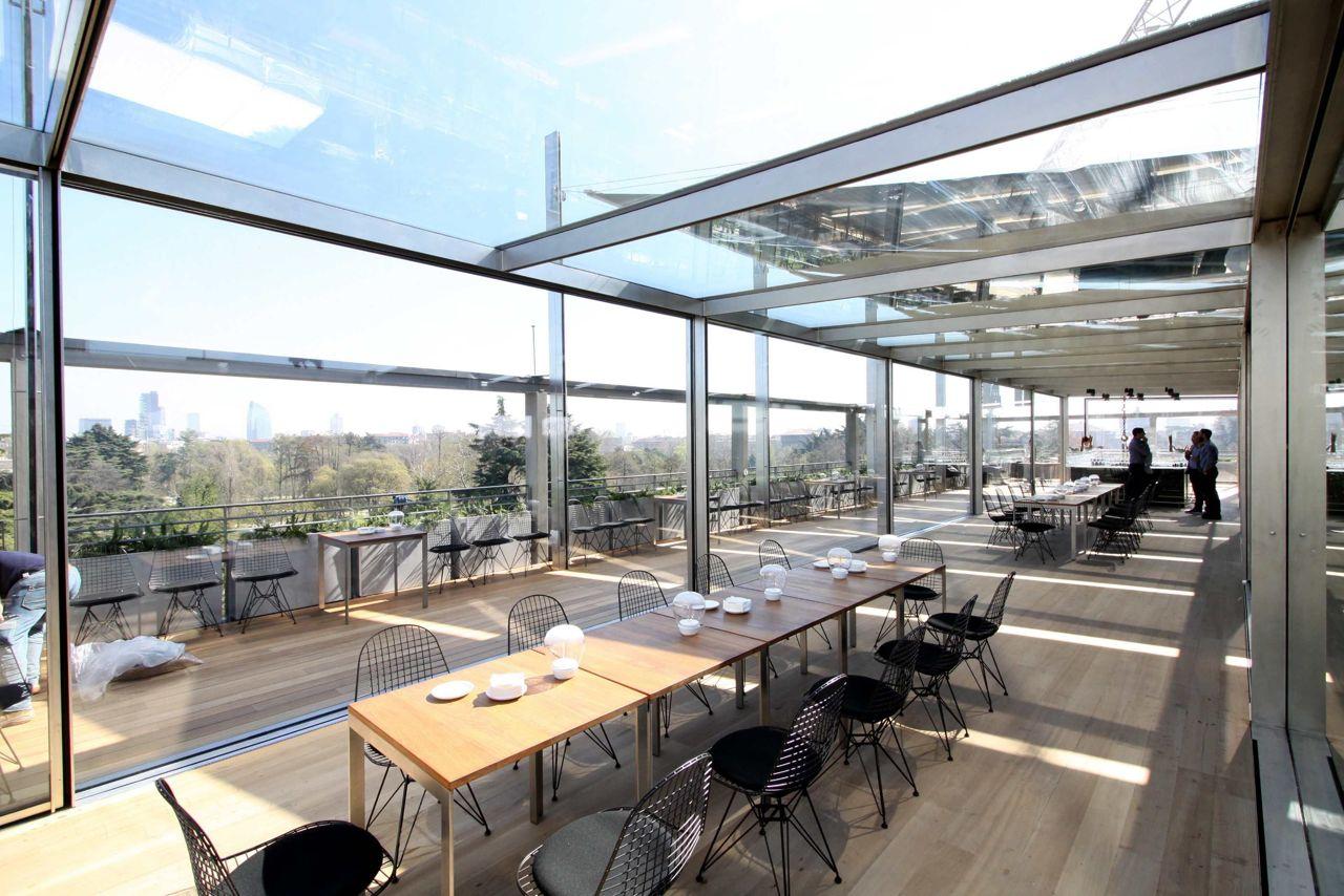 Triennale e nuovo ristorante con terrazza in the mood for design - Terrazzi di design ...
