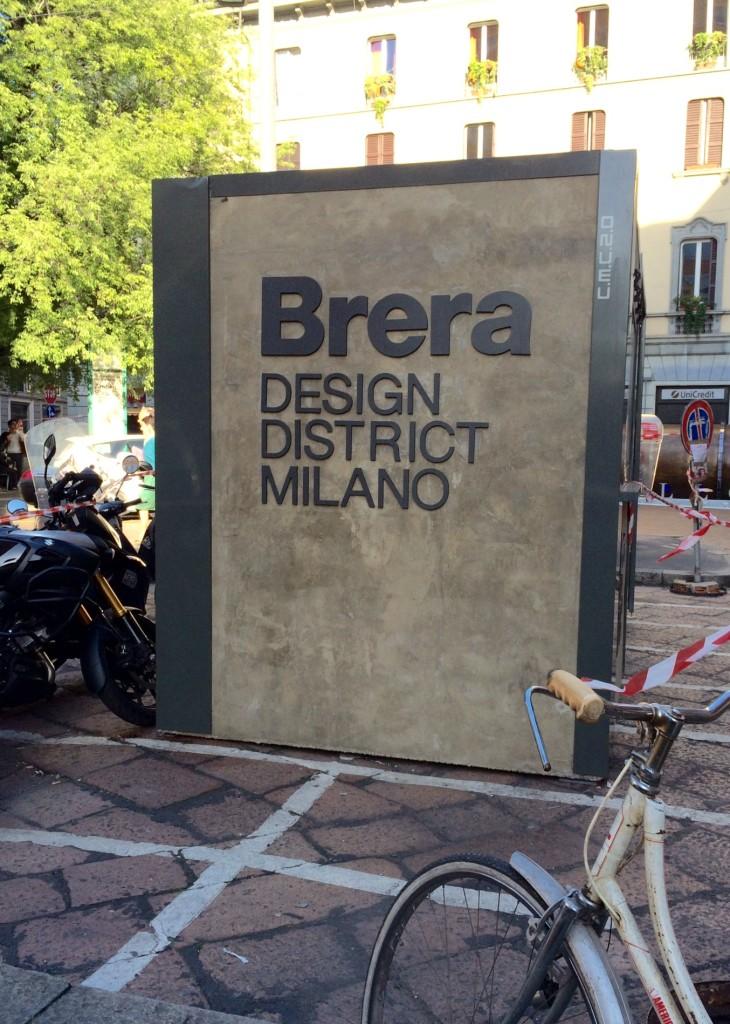 Brera, Salone del Mobile 2015