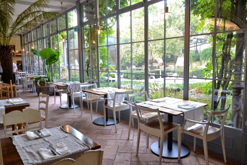 Al fresco ristorante con giardino in the mood for design for Il giardino milano ristorante