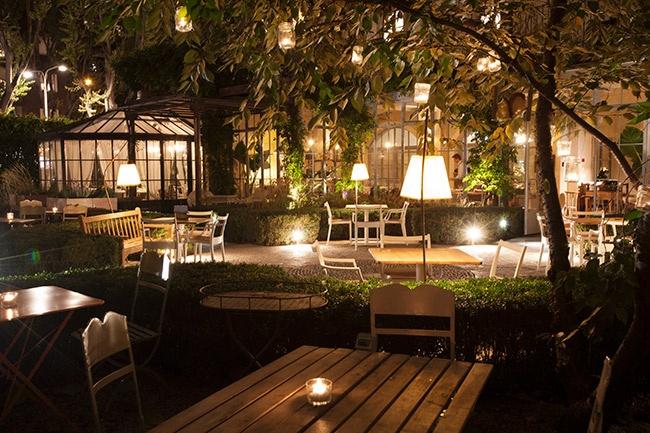 Al fresco ristorante con giardino in the mood for design for Garden designer milano