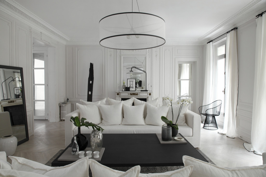 total white a parigi in the mood for design