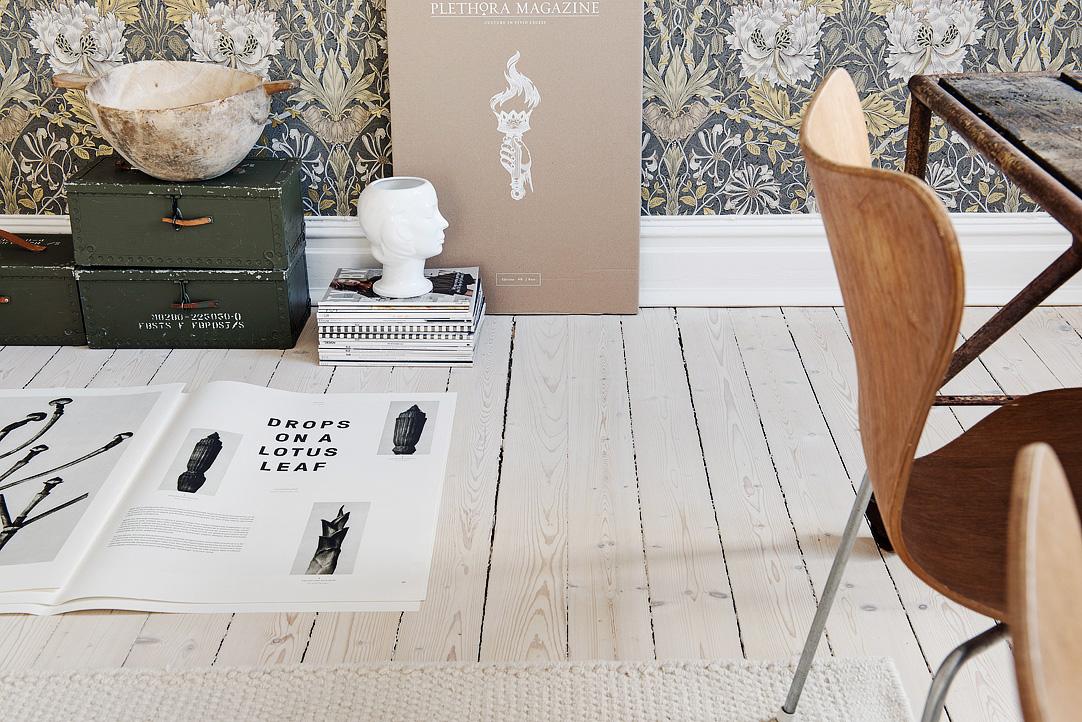 Una casa in bianco, grigio e beige – In the mood for design