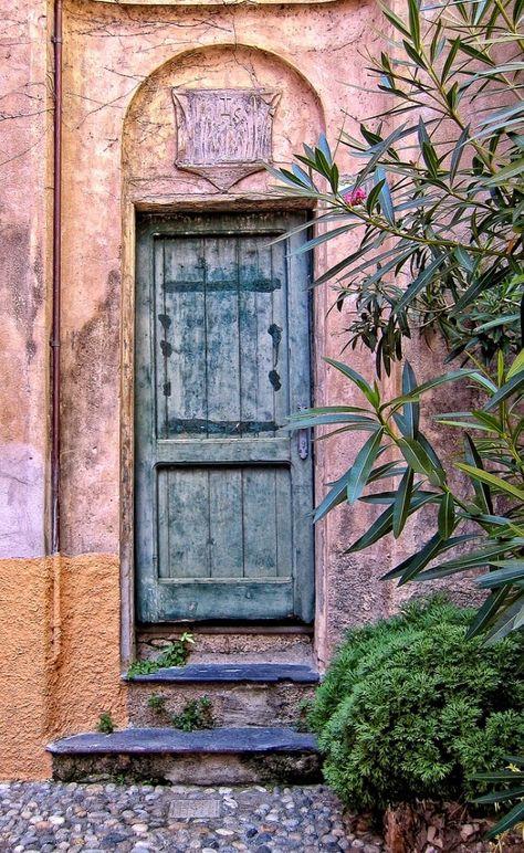 Porta di Portofino, Liguria, Italia