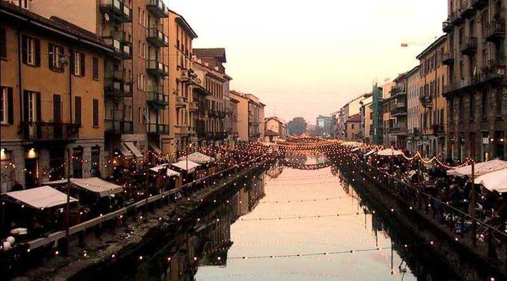 Mercatino Antiquariato Milano Navigli