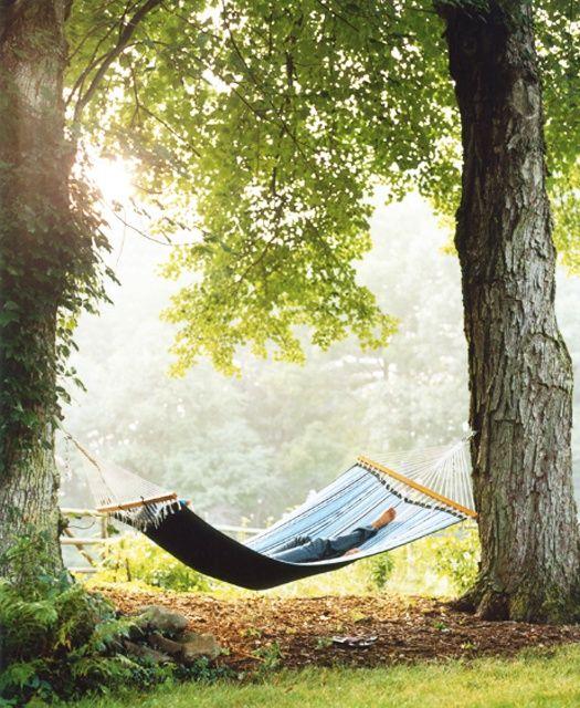 Un po' di relax sotto al cielo estivo