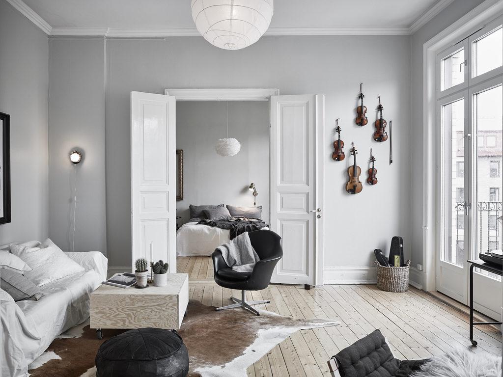 Un appartamento dal mood musicale