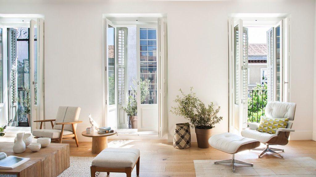 Una casa piena di luce a Madrid
