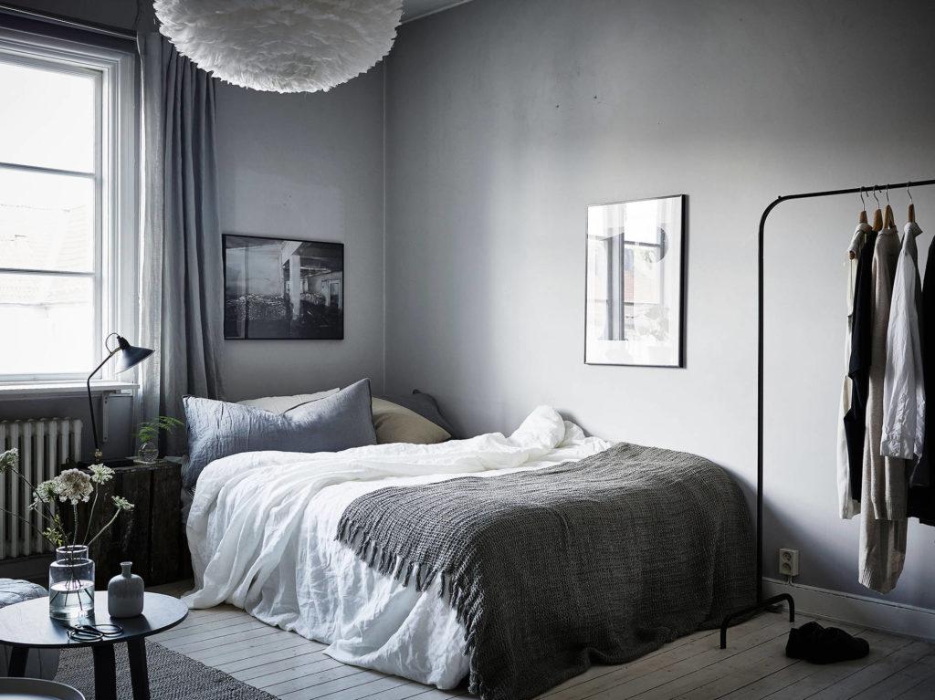 40 mq di charme in grigio