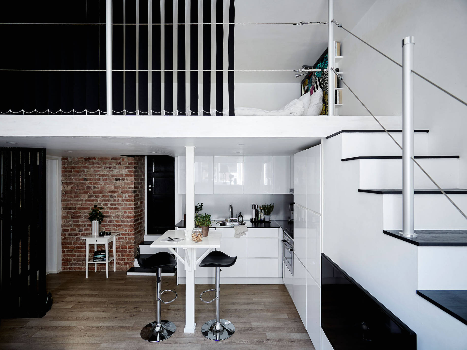 Mini Loft Di 35 Mq In The Mood For Design