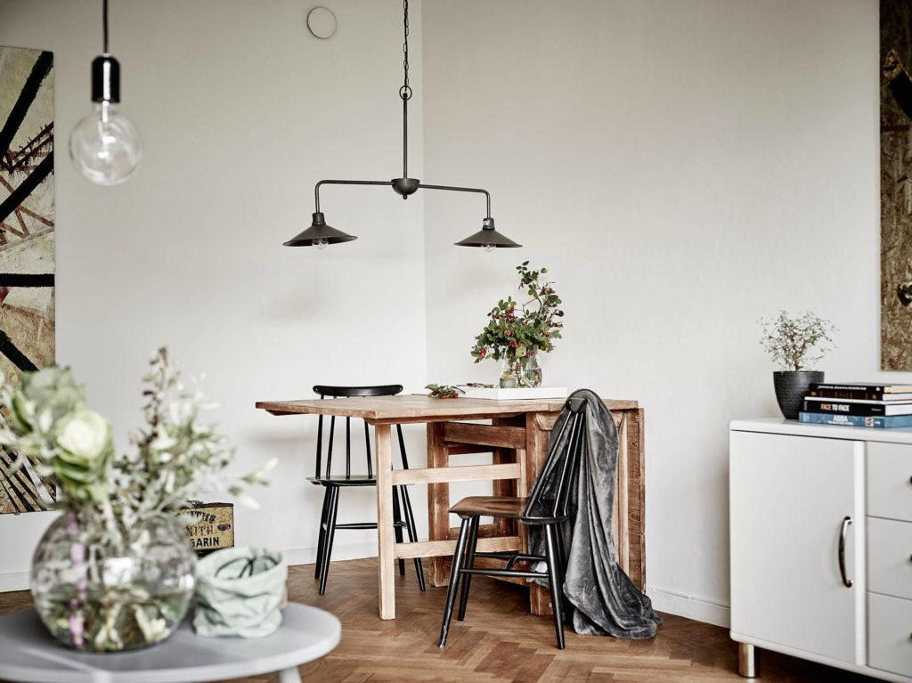 Piccoli dettagli di stile per un interno svedese
