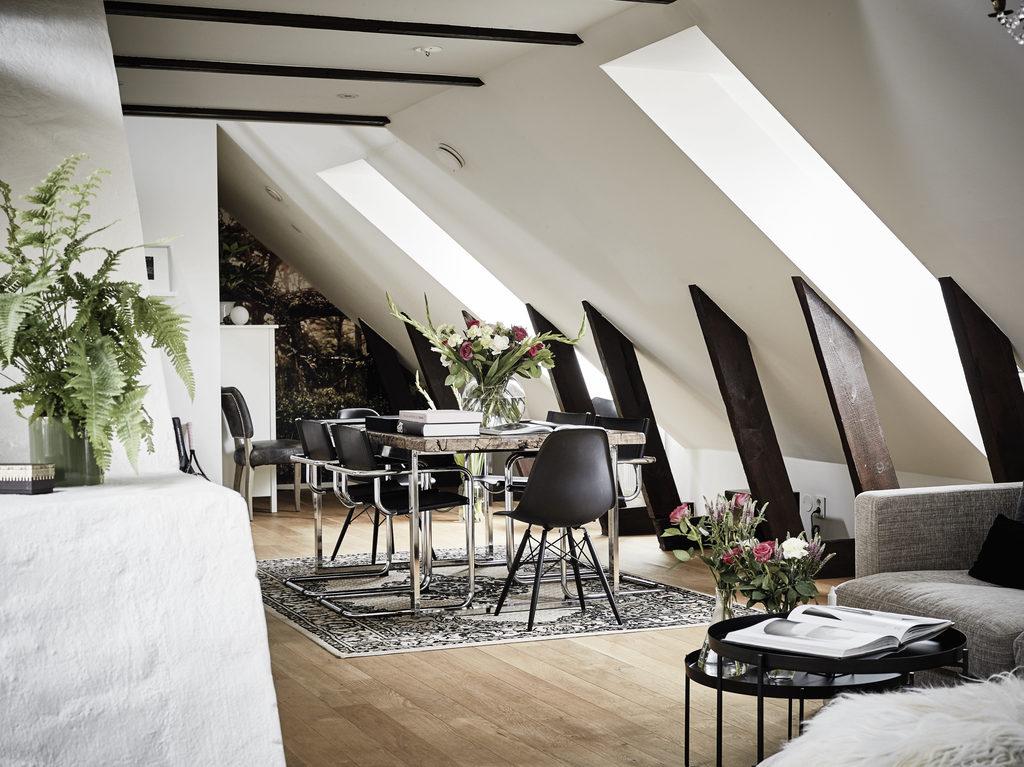 Affascinante sotto tetto su due livelli