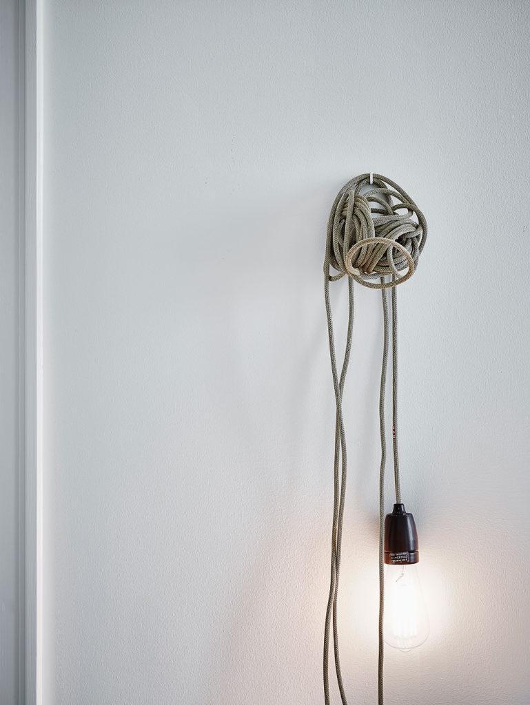 Un mini appartamento in bianco a Göteborg