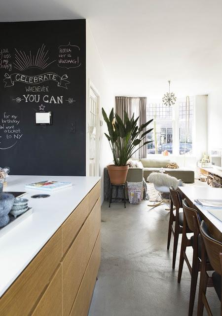 Una casa dal mood rilassato a Delft
