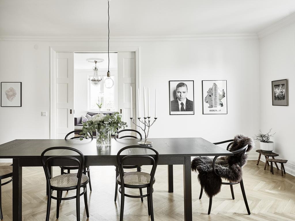 Interno nordico con sedie thonet in the mood for design for Sedie design nordico