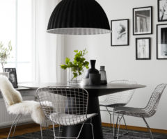 Nordic style in black&white
