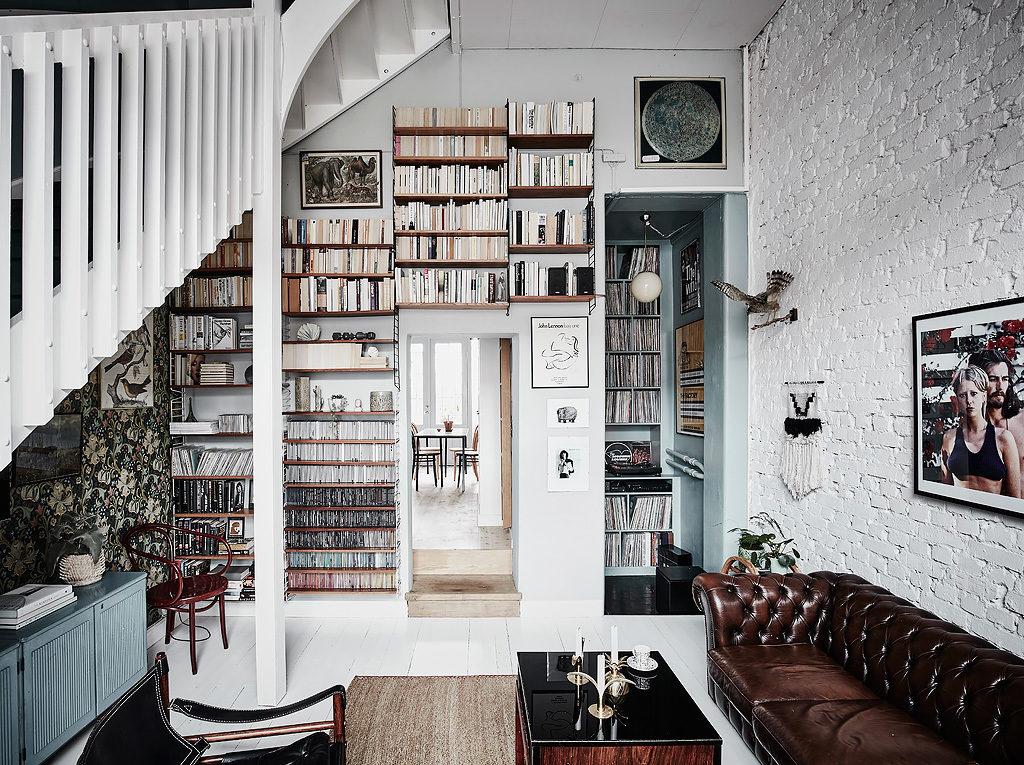 Una casa dal fascino vintage