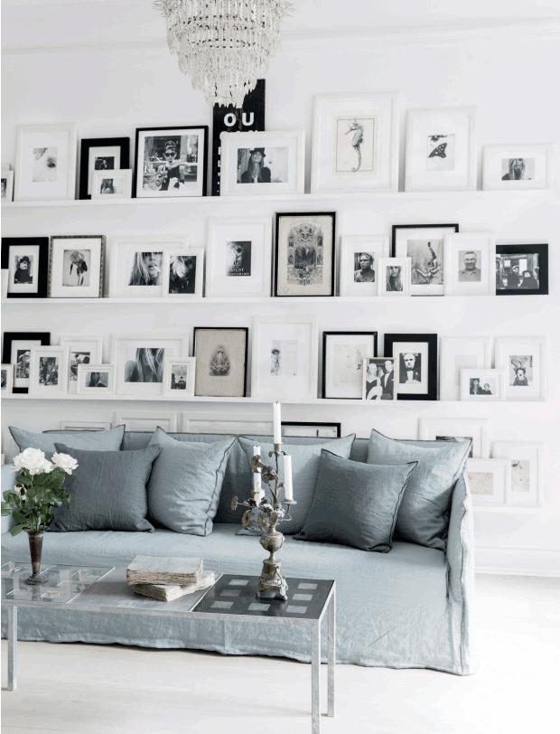Candida semplicità per un interno danese