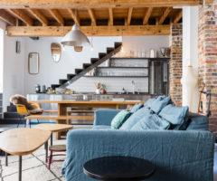 Una casa dallo stile eclettico a Parigi