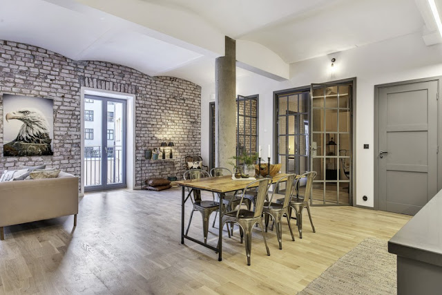 Un romantico industrial chic in the mood for design for Industrial chic style