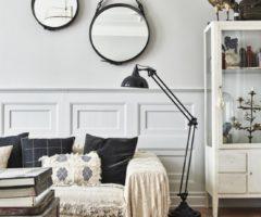 Stile eclettico per un interno a Malmö