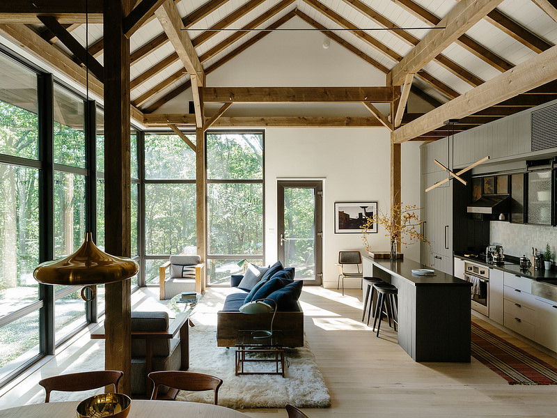 Un fienile nella valle dell hudson in the mood for design for Casa stile shaker