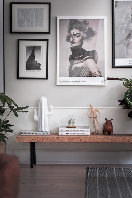 Una parete divisoria in vetro e ferro – In the mood for design