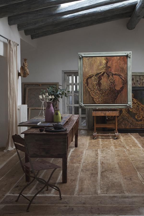 Un atelier d'artista in Costa Brava