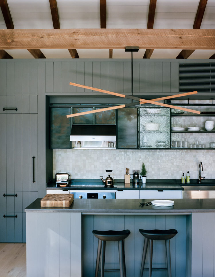 flights-of-fancy-new-york-hudson-valley-retreat-kitchen-custom-stickbulb-led-lamp-concrete-get-real-surfaces-island-countertop-wood-beams-vallhalla-wood-preservatives-stain