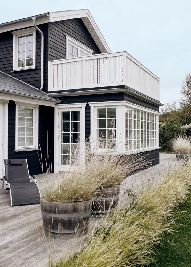Una casa sulla costa danese