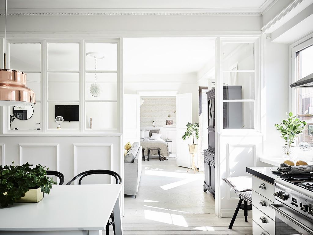 Parete In Vetro E Legno : Una parete divisoria in vetro e legno the mood for design