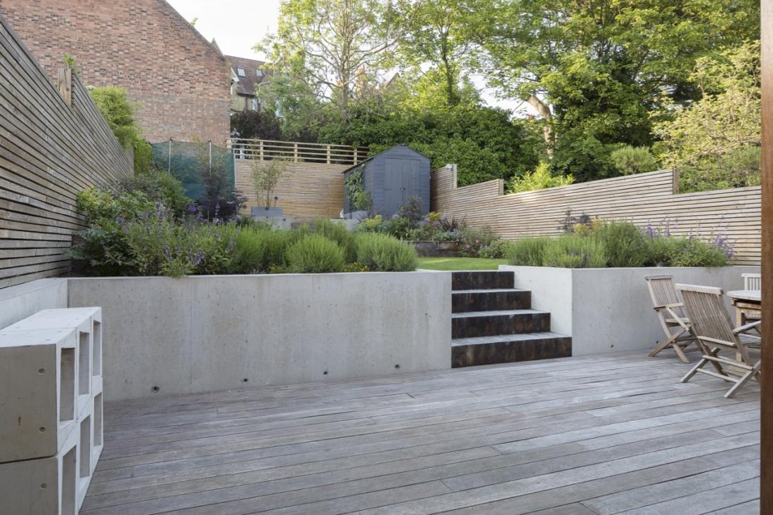Ristrutturazione di una casa anni 30 con giardino in the for Piani di una casa di pensionamento storia