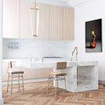 Un appartamento dal fascino minimalista a Barcellona