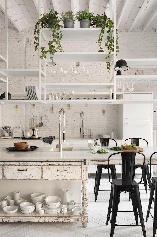 Conosciuto Una casa dallo stile industriale a Barcellona – In the mood for design NI49