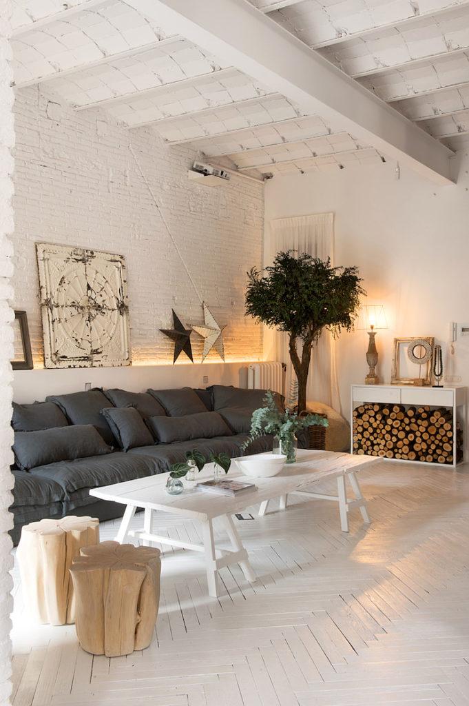 Barcellona appartamento in stile industriale 2