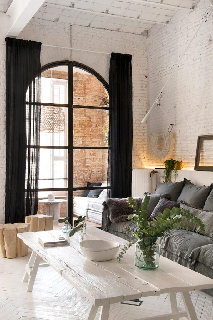 Barcellona appartamento in stile industriale 3