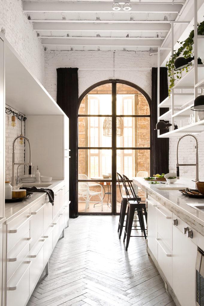 Barcellona appartamento in stile industriale
