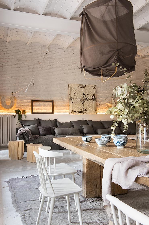 Interior inspiration una casa dallo stile industriale a for Appartamento design industriale