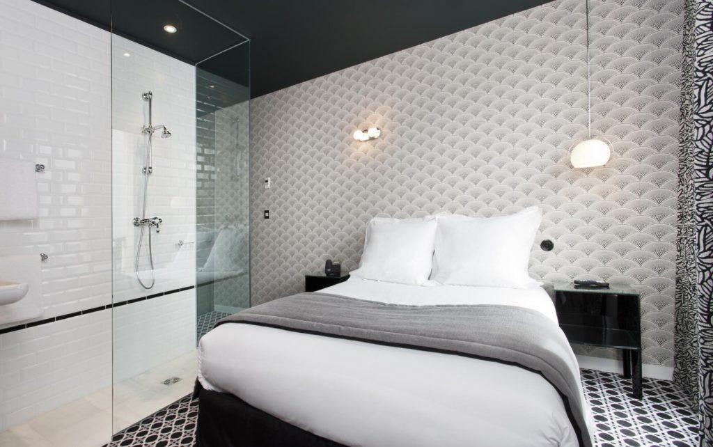 Hotel Emile, Paris stanza da letto