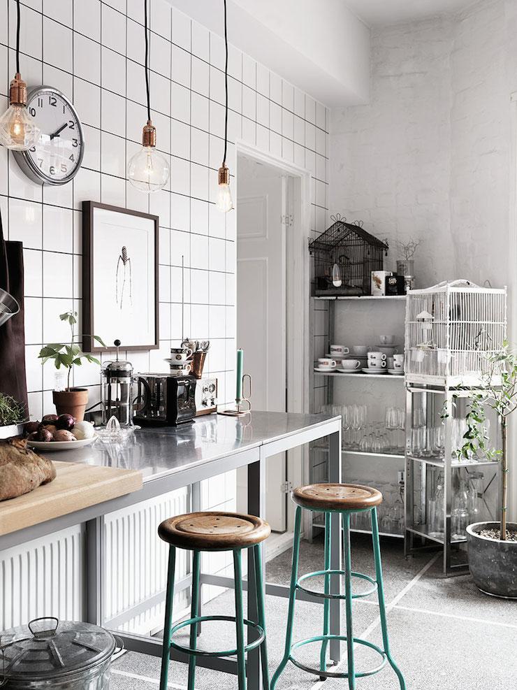 Stile industriale per un appartamento a malm in the for Appartamento design industriale