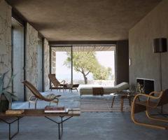 Una casa dallo stile affascinante e minimal in Sicilia
