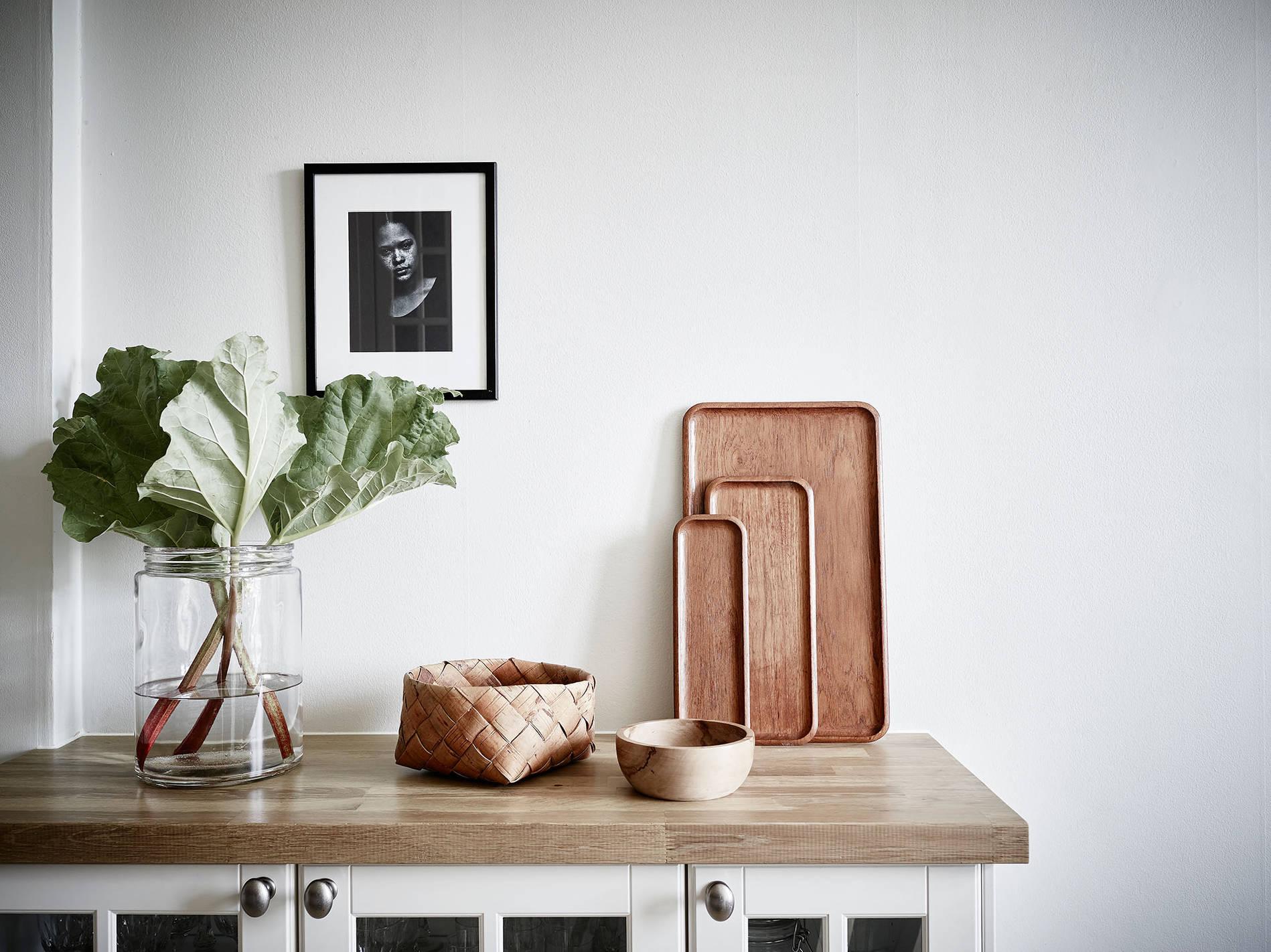 Un appartamento in bianco e grigio – In the mood for design