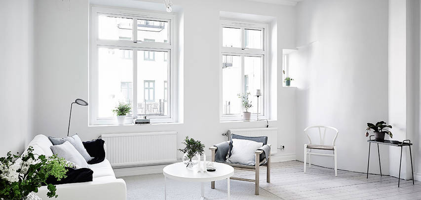 casa in total white living 1