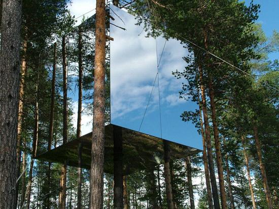 Treehotel Sweden per una full immersion nella natura