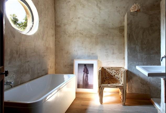 cascina in costa Brava bagno