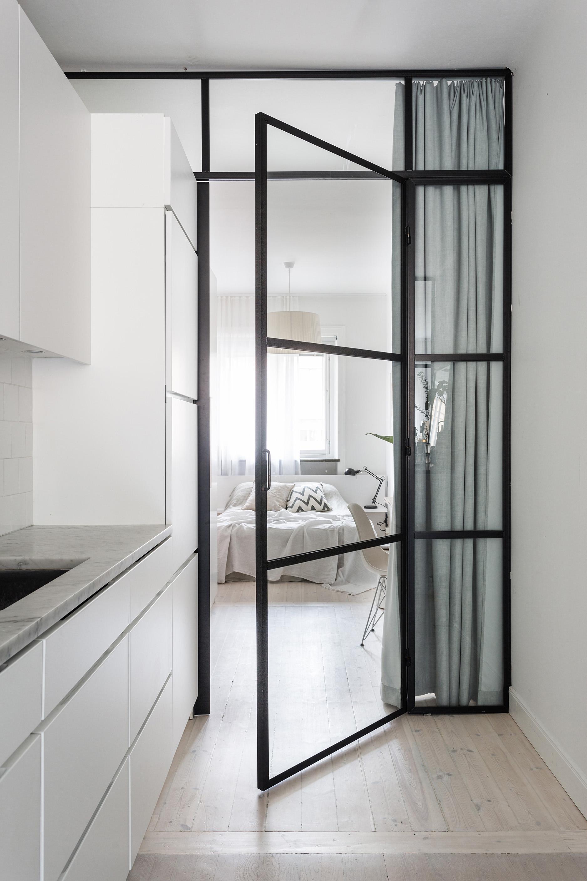 Piccolo appartamento stiloso in the mood for design for Appartamento design industriale